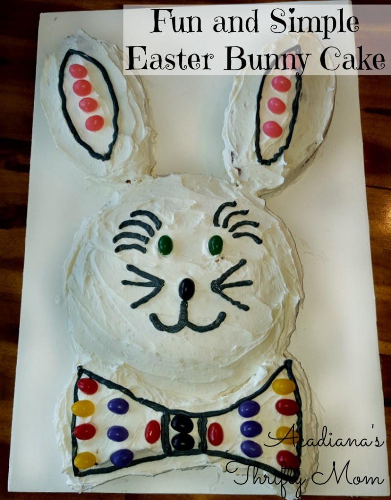 Fun and Simple Easter Bunny Cake