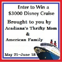 final disney button Enter here to #Win a $3000 Disney Cruise!
