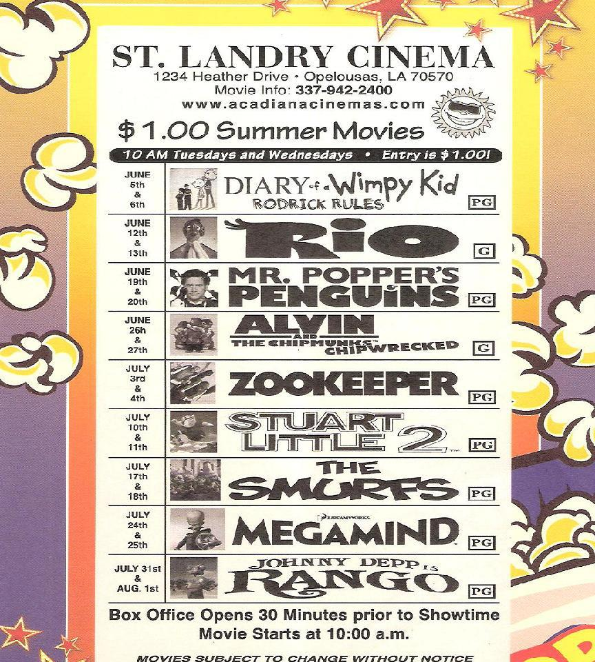 st landry cinema