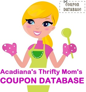 Acadiana's Thrifty Mom Coupon Database