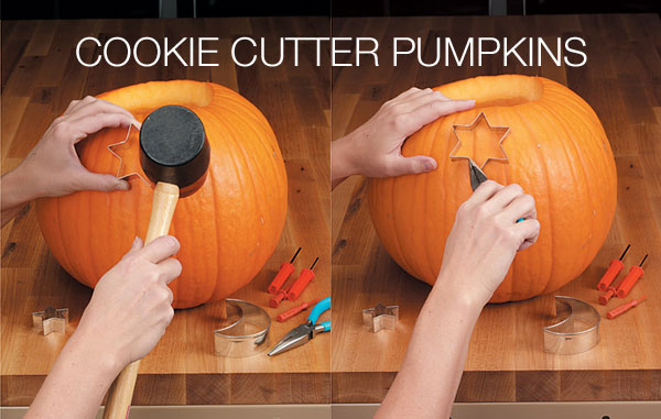 cookie cutter pumpkins