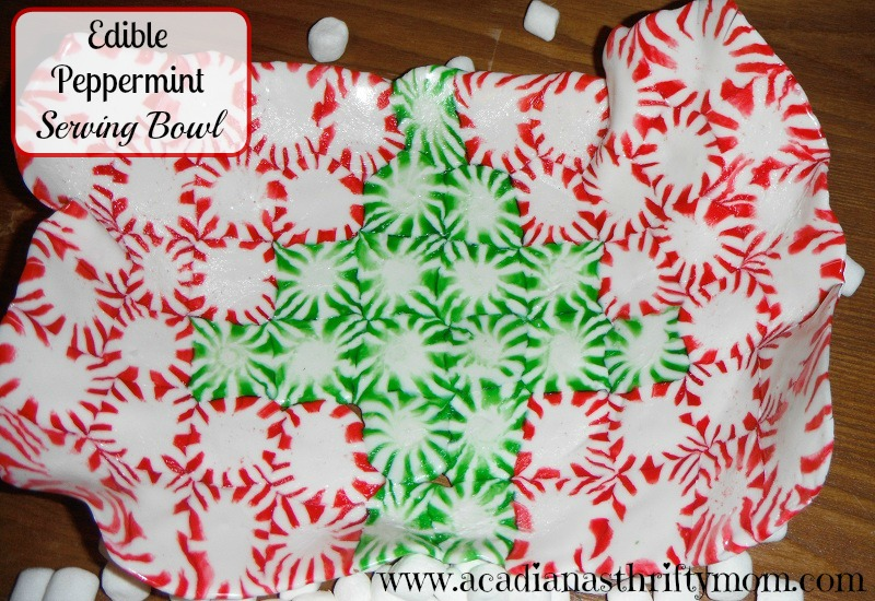edible peppermint bowl