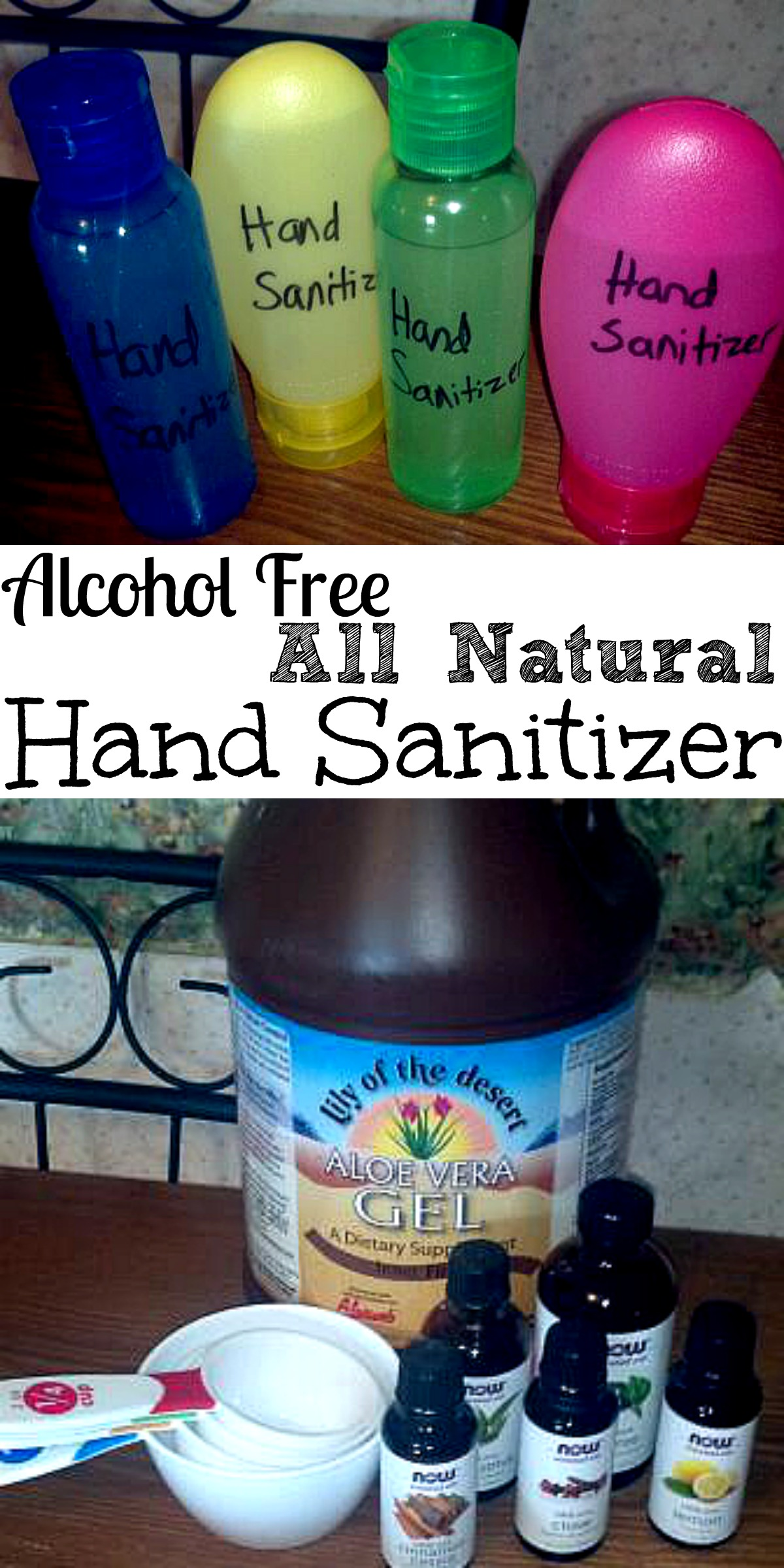 hand sanitizer Collage
