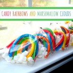 candy marshmallow clouds