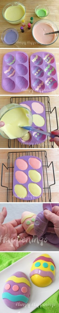 cheesecake easter eggs
