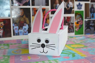 tissue box bunny