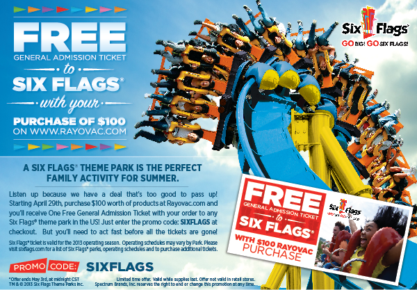 free six flags