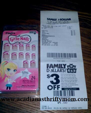 Family dollar nails http acadianasthriftymom com category drug store