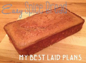 easy spice bread