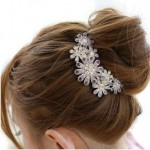 jewelery flowers hair clip