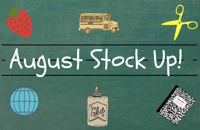 august stock up