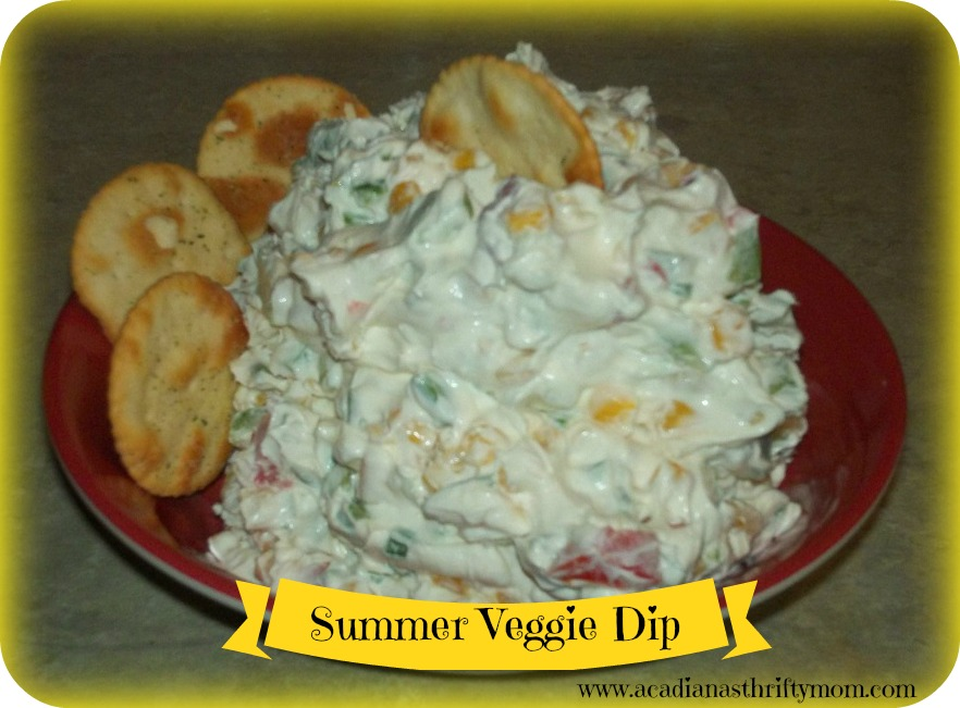 summer veggie dip