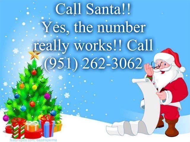 Santas Phone Number Call Santa For Free Acadianas
