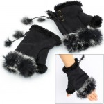 fashion rabbit gloves