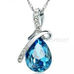 teardrop crystal