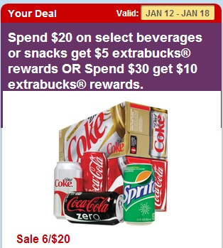 cvs coke deal