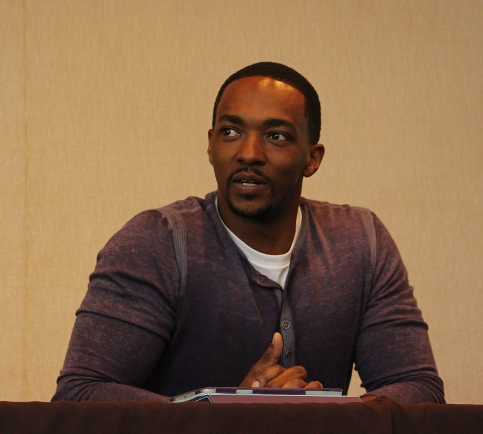 My HILARIOUS Interview With Anthony Mackie AKA The Falcon