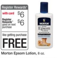 epsom lotion