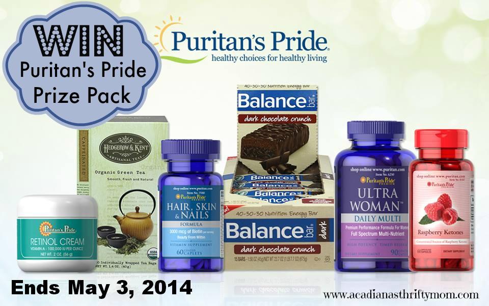 puritan pride button