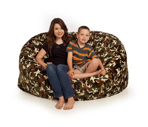 bean bag chair camo