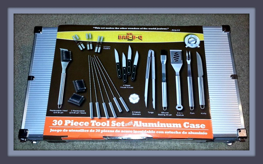 We Have Definitely Had Our Share Of Bar B Q Tools And Kits But None Were As Extensive All Inclusive The Mr 30 Piece Tool Set With Aluminum