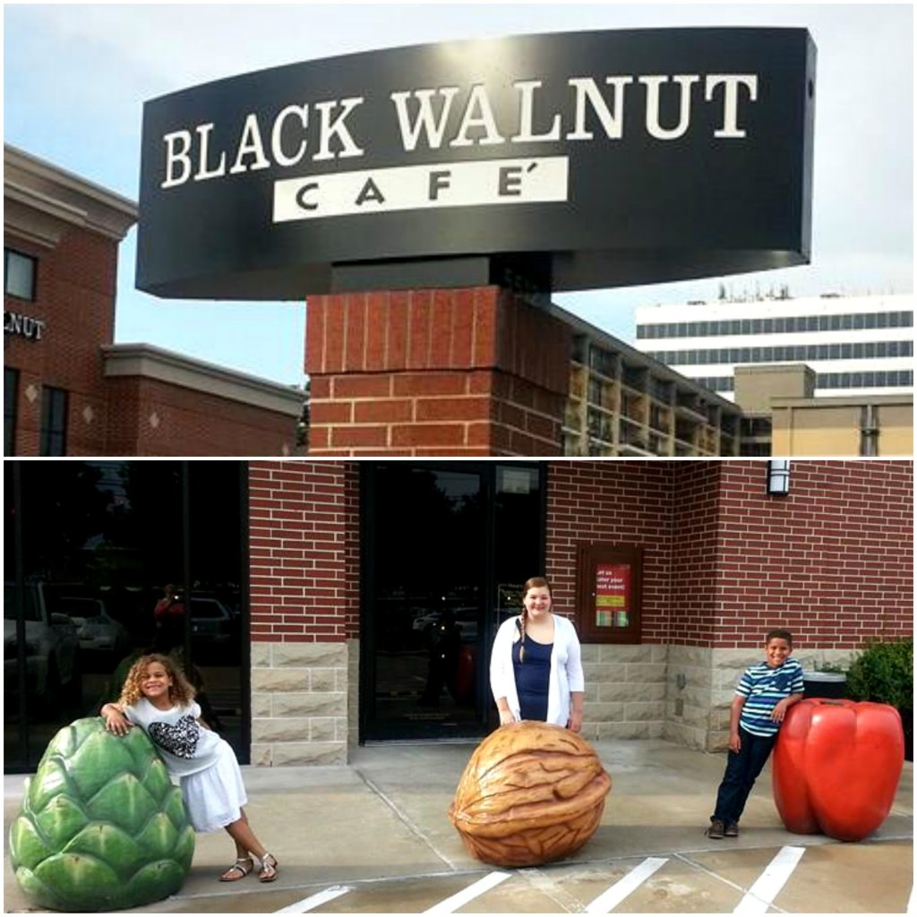 black walnut cafe front