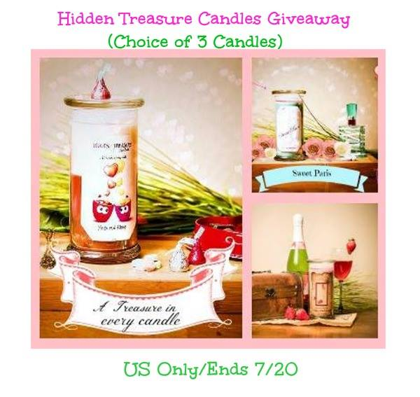 hidden treasures candle button