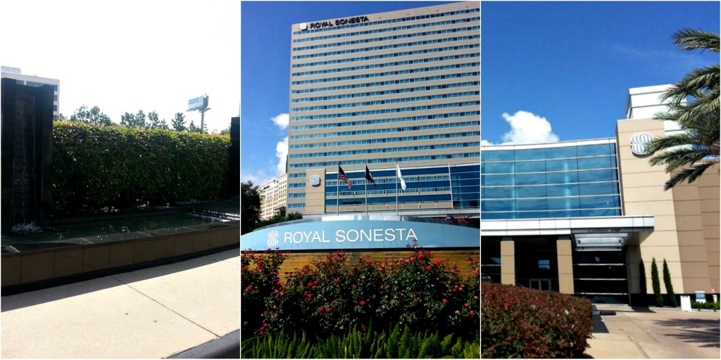 royal sonesta outside Collage