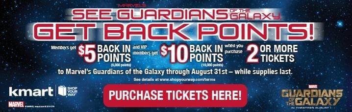 guardians of the galaxy ticket sale