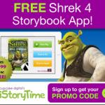 free shrek 4 story book