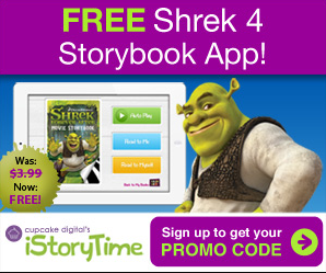 free shrek 4 story book