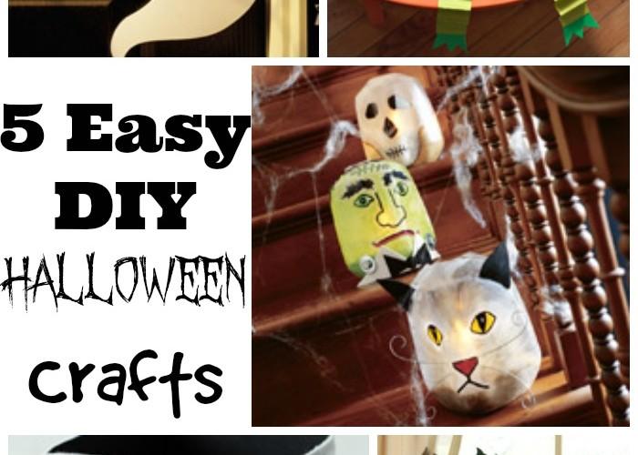 halloween craftCollage