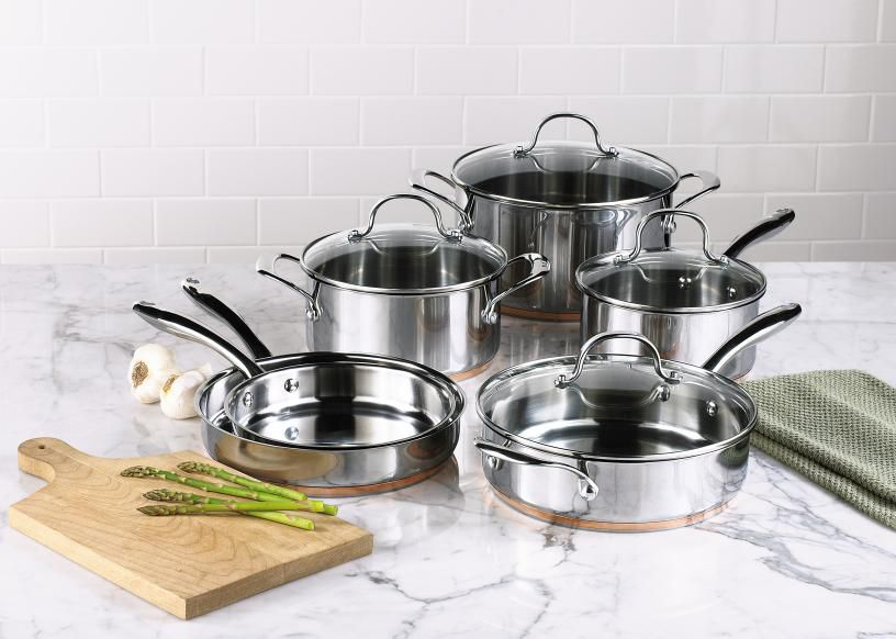 10 piece stainless steel