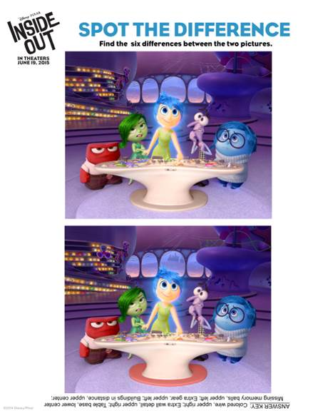 inside out activity