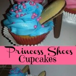 princess shoes cupcakes Collage