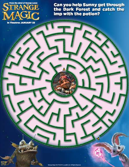 strange magic maze pic