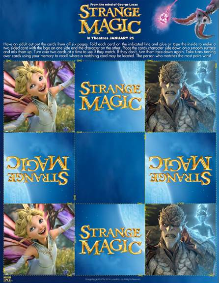 strange magic memory cards pic