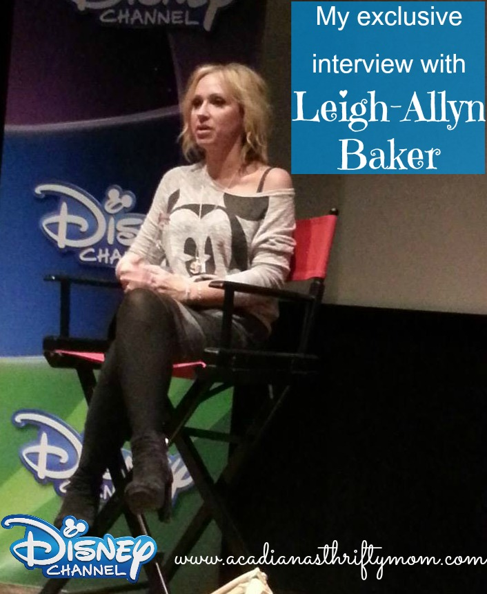 interview with leigh allyn baker
