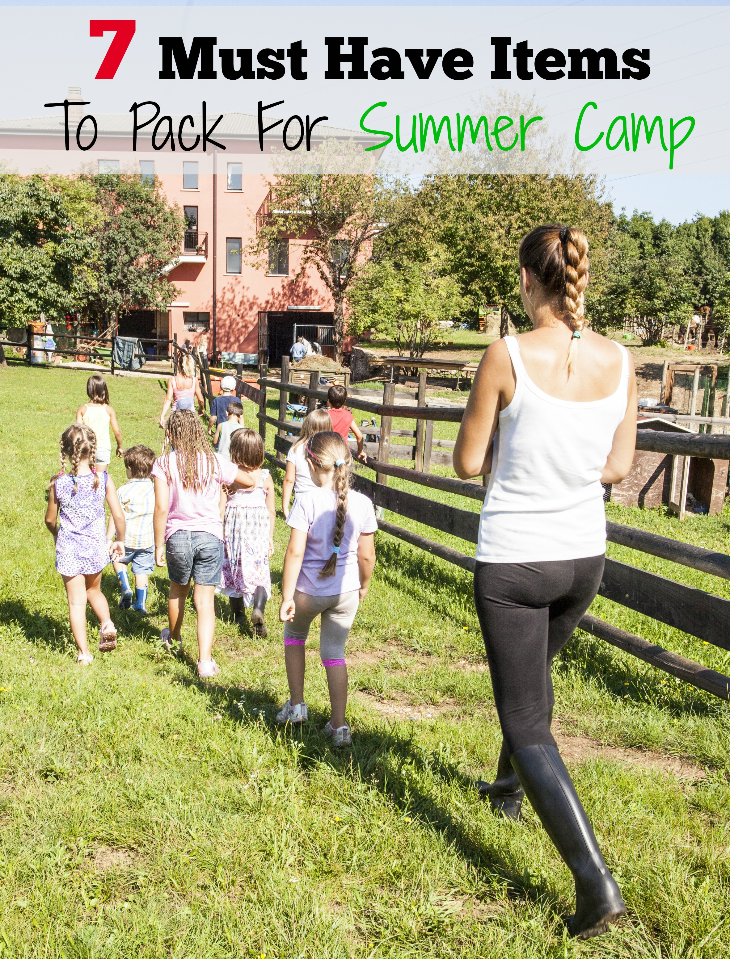 Summer Must Haves: 7 Must Have Items To Pack For Summer Camp