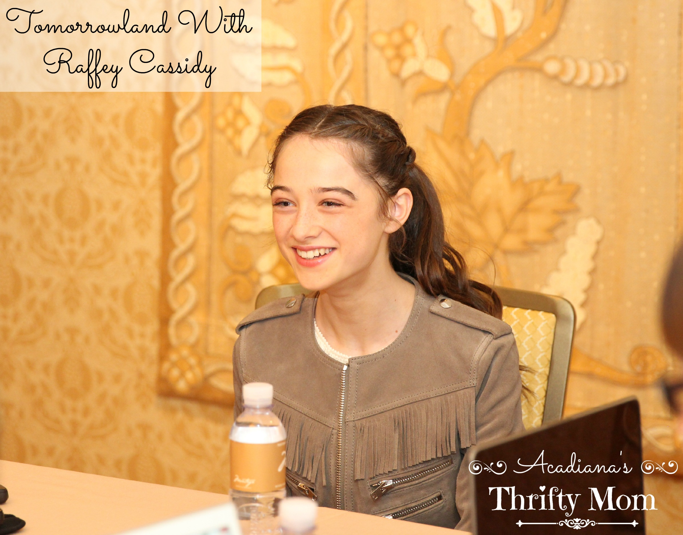 Learning to Drive In Tomorrowland With Raffey Cassidy #TomorrowlandEvent