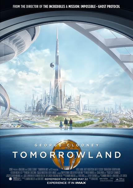 Exclusive Interview With George Clooney About Tomorrowland Part Deux #TomorrowlandEvent