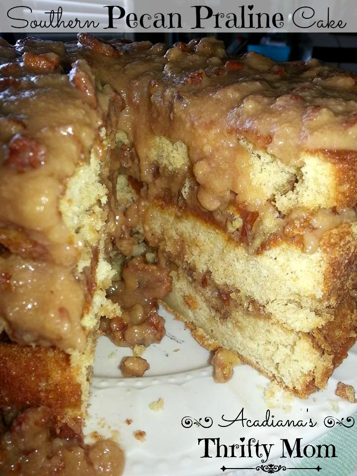 pecan praline cake1