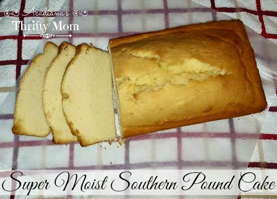 Super Moist Southern Pound Cake