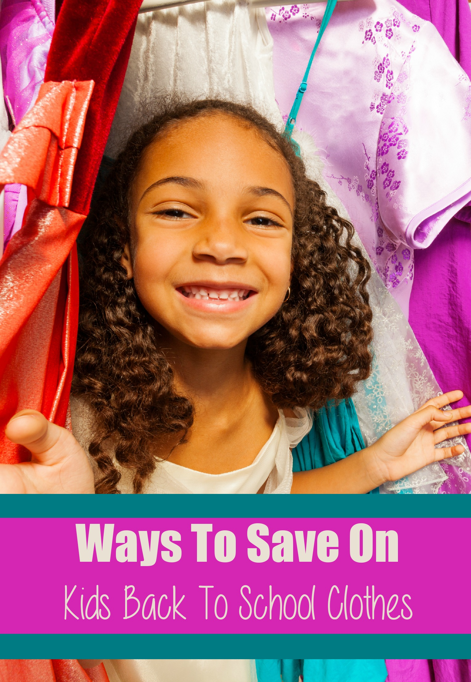 Ways To Save On Kids Back To School Clothes