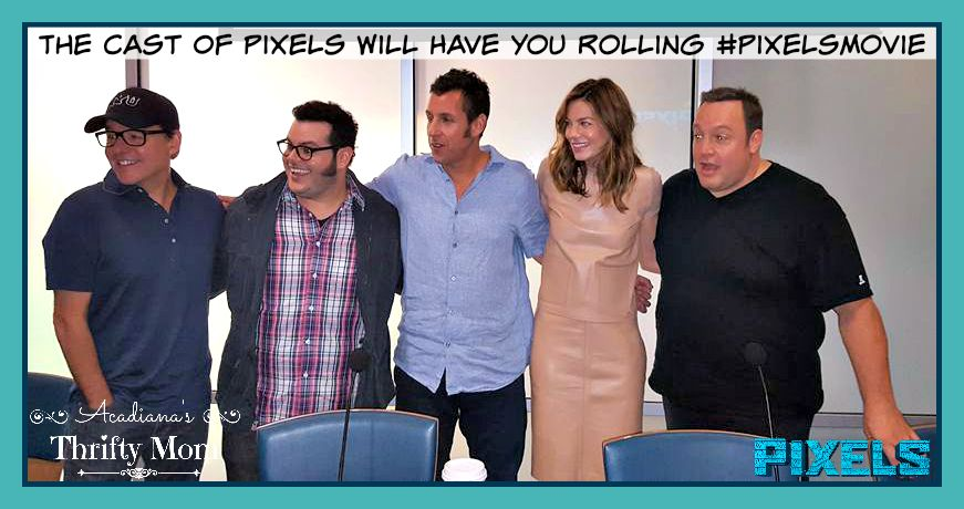 The Cast Of Pixels Will Have You Rolling #PixelsMovie