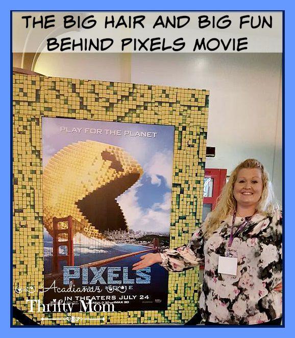 The Big Hair And Big Fun Behind Pixels Movie #PixelsMovie