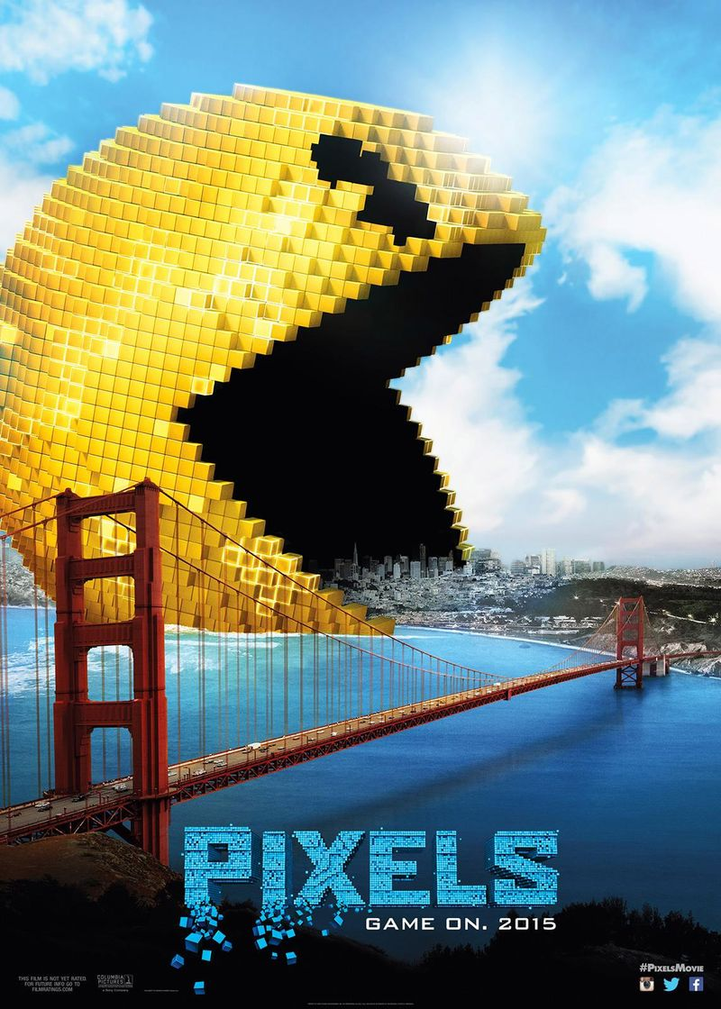 Pixels Movie In Theaters July 24 #PixelsMovie