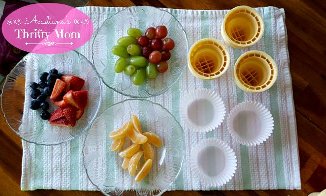Easy Peasy And Healthy Fruit Cones