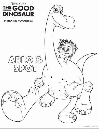 Get to Know the Good Dinosaur with These Free Activity Sheets #GoodDino