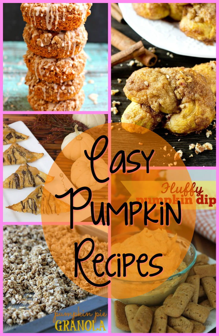Easy Pumpkin Recipes #Pumpkin
